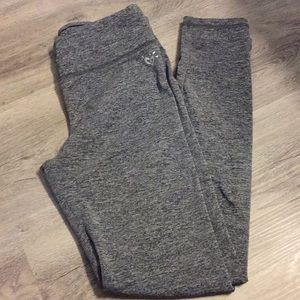 Justice leggings size 12 heather gray